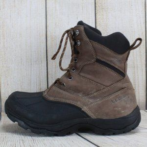 LL BEAN Storm Chaser Walking Hiking Boots Size 8